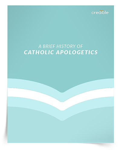Download a free copy of A Brief History of Catholic Apologetics Timeline.